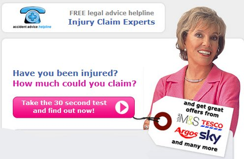 Accident Advice Helpline Welcome to Free Samples   How To Order Free Samples