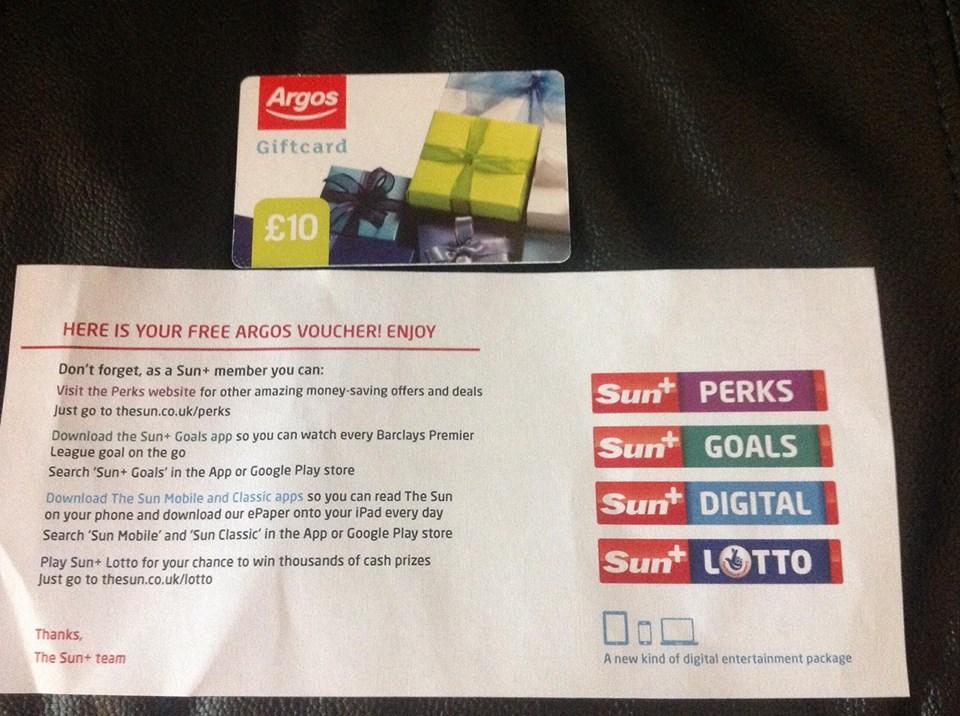 Argos voucher codes 10 off