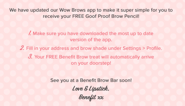 Free Benefit Brow Pencil
